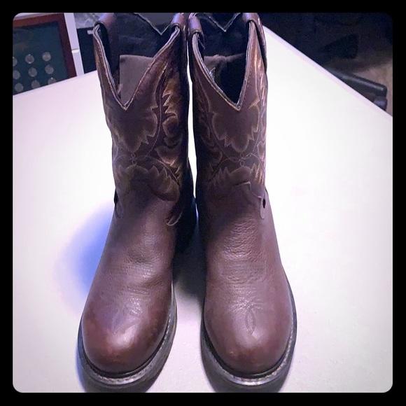 d7bbc04c8f5 Men's Tony Lama Work Boots, Size 10D EUC